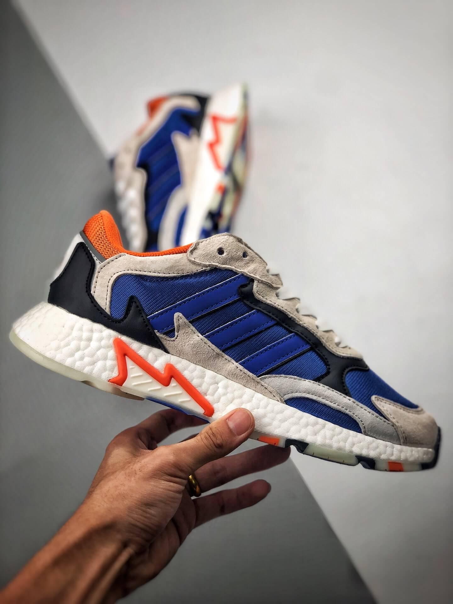 The Adidas Tresc Run Blue Retro BR