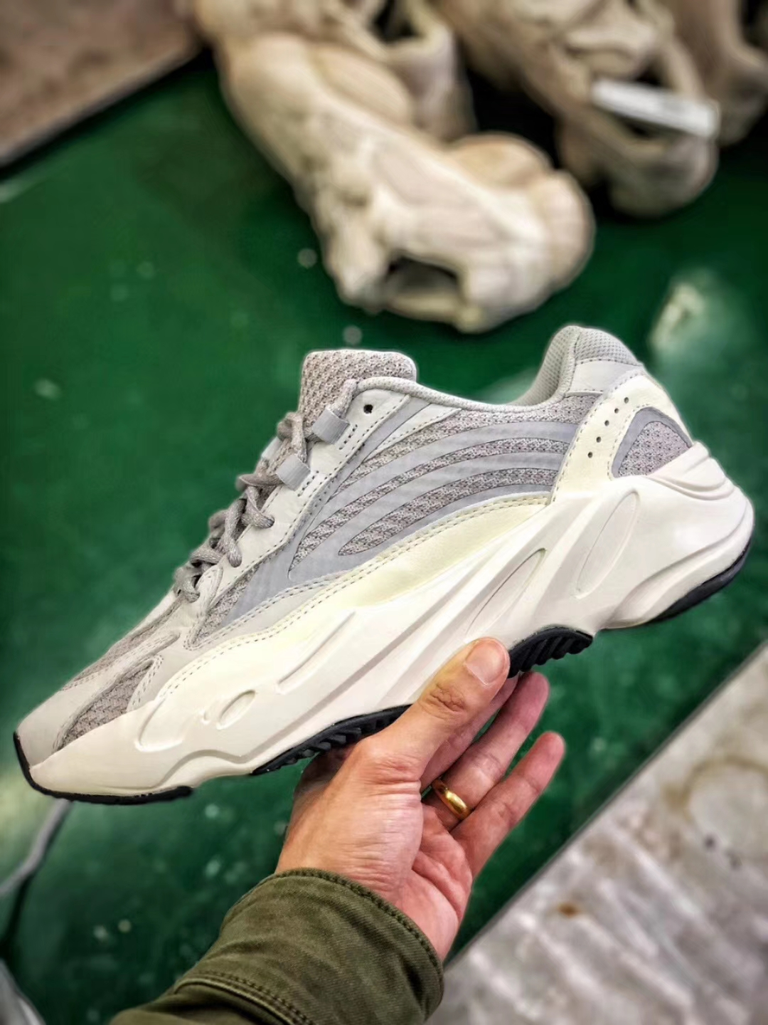 The Adidas Yeezy Boost 700 V2 Static Sneaker Best Quality RepShoes 02