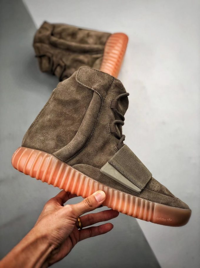 The Adidas Yeezy Boost 750 Chocolate Sneaker Quality RepShoes 02