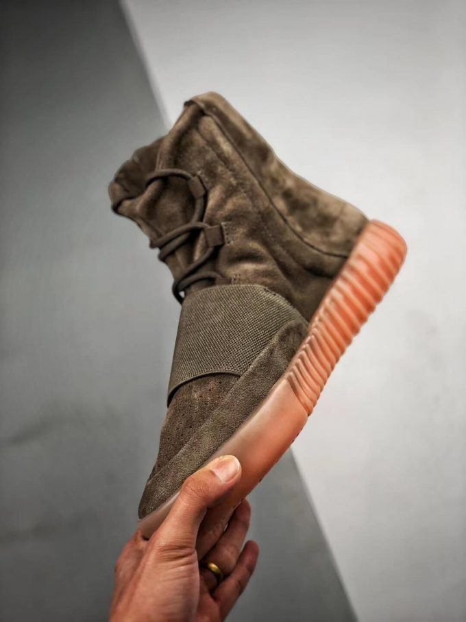The Adidas Yeezy Boost 750 Chocolate Sneaker Quality RepShoes 04