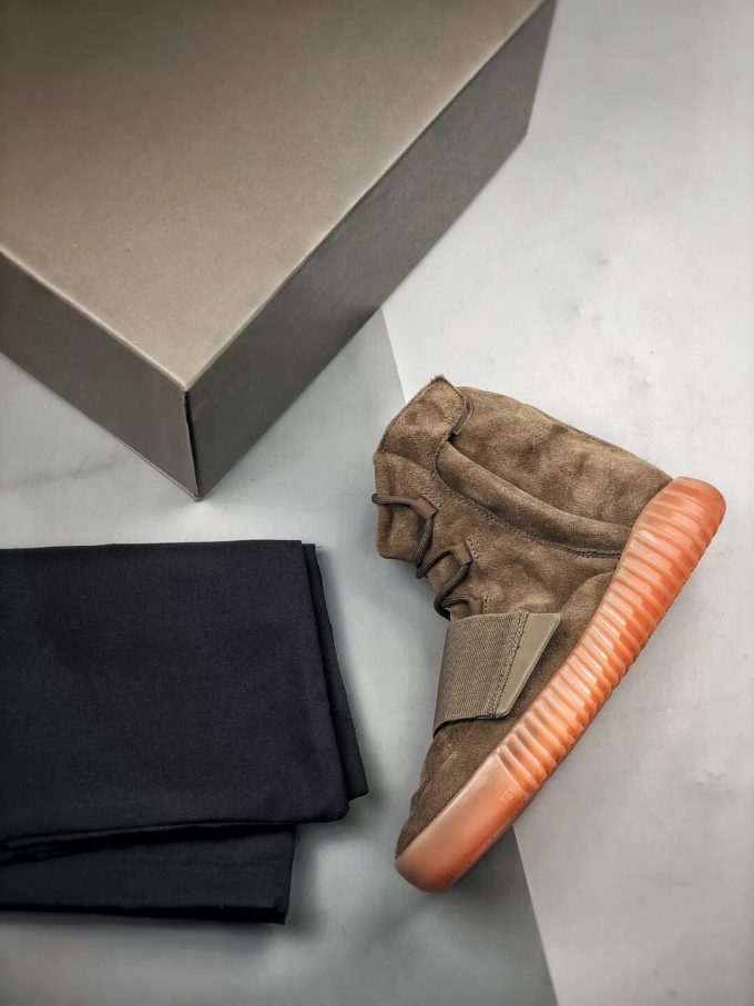 The Adidas Yeezy Boost 750 Chocolate Sneaker Quality RepShoes 09