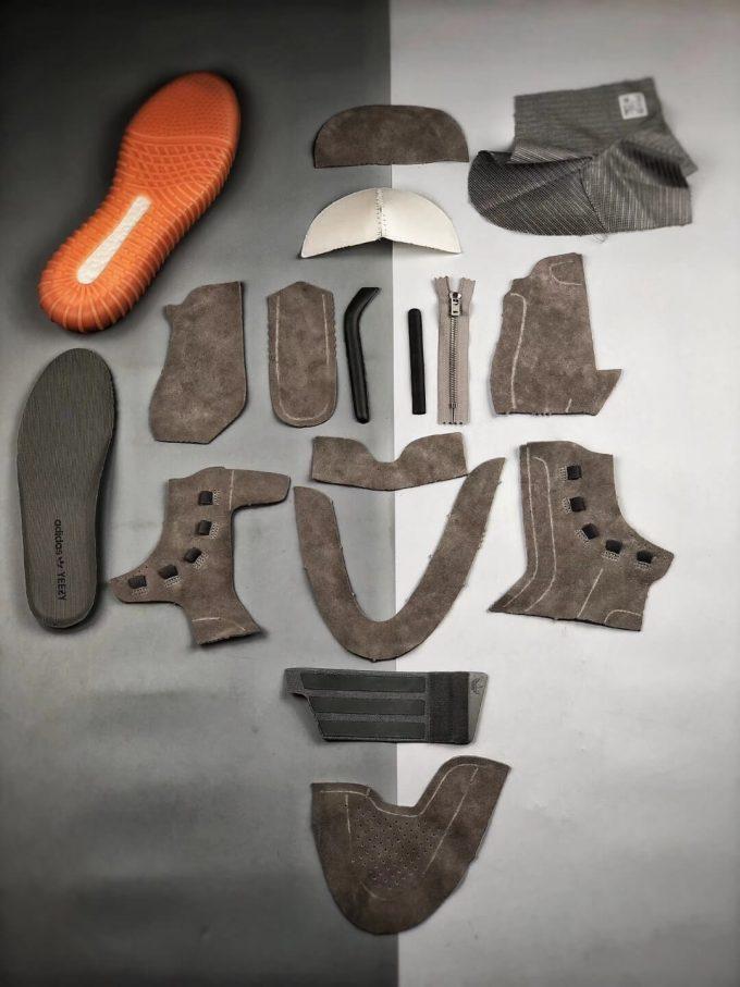 The Adidas Yeezy Boost 750 Grey Gum Suede Upper Best Quality RepSneaker 10