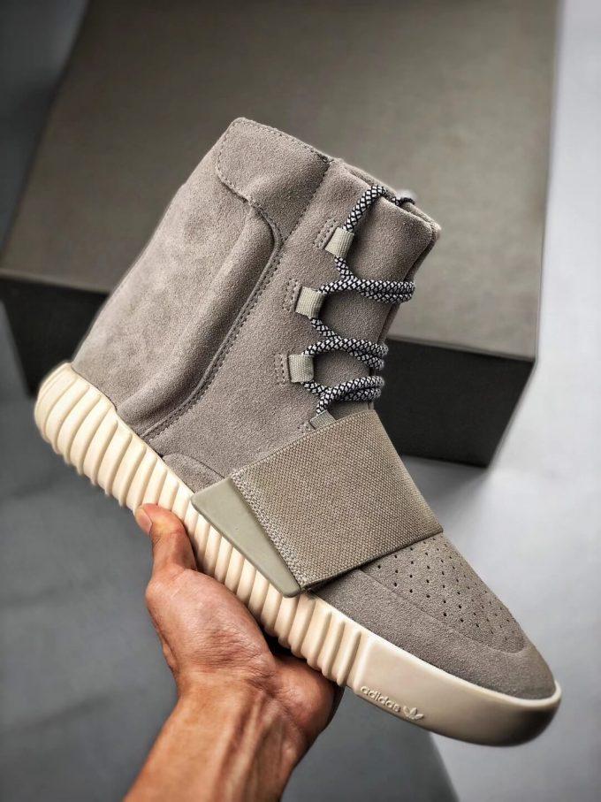 The Adidas Yeezy Boost 750 OG Grey Suede Best Rep Sneaker 01