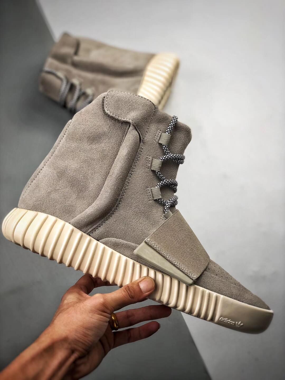 The Adidas Yeezy Boost 750 OG Grey Suede Best Rep Sneaker 02