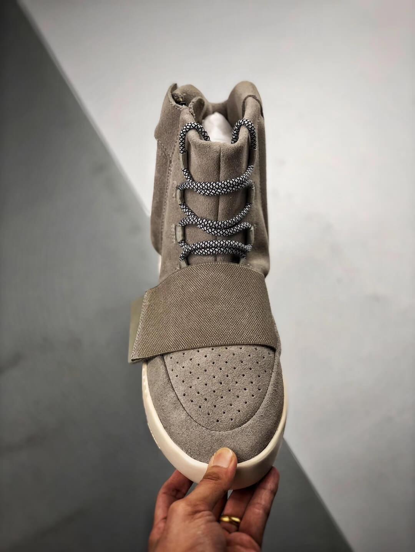 The Adidas Yeezy Boost 750 OG Grey Suede Best Rep Sneaker 03
