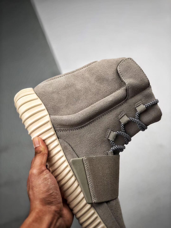 The Adidas Yeezy Boost 750 OG Grey Suede Best Rep Sneaker 05