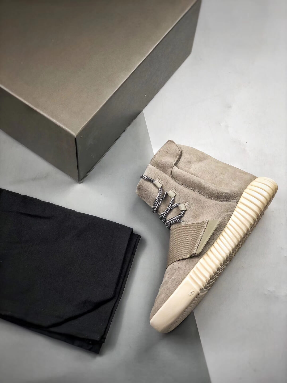 The Adidas Yeezy Boost 750 OG Grey Suede Best Rep Sneaker 09