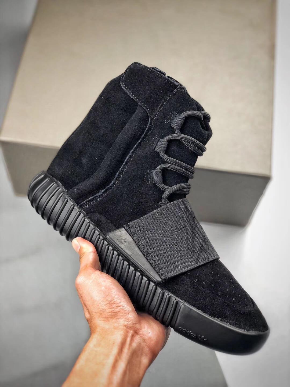 yeezy 750 triple black