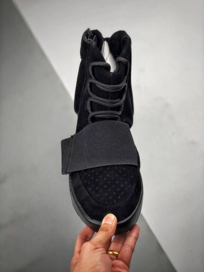 The Adidas Yeezy Boost 750 Triple Black Suede Quality Rep Sneaker 03