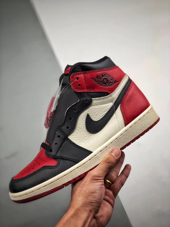 The Air Jordan 1 Retro High OG Bred Toe