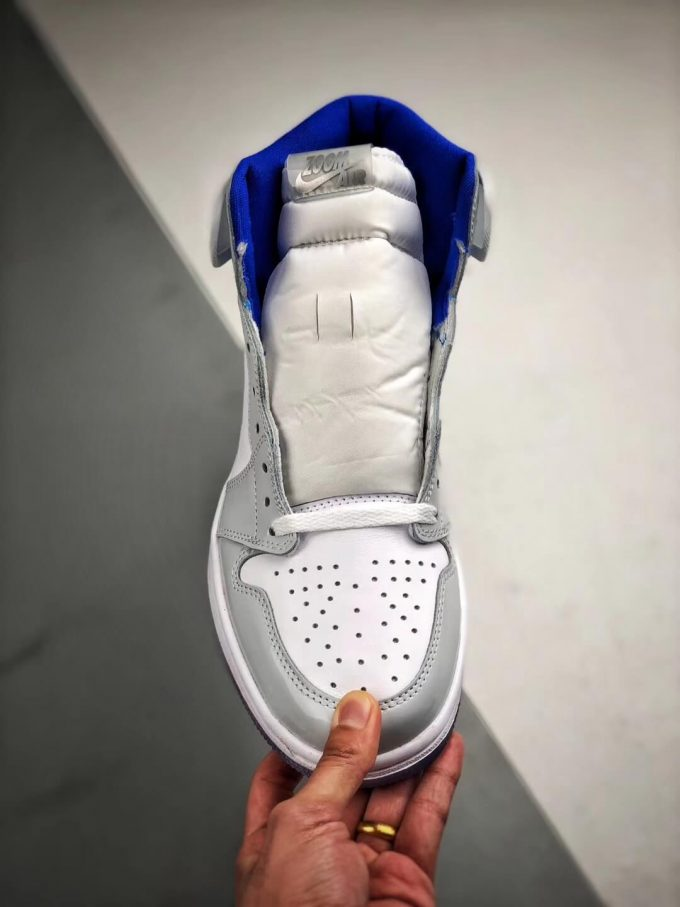 The Air Jordan 1 Retro High Zoom Racer Blue RepShoes 03