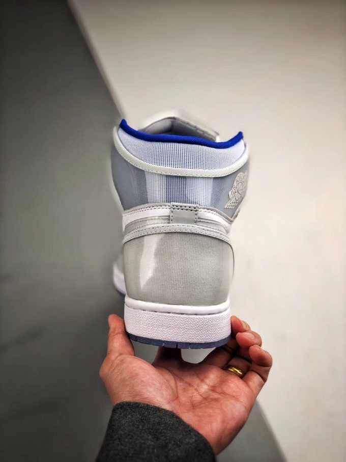 The Air Jordan 1 Retro High Zoom Racer Blue RepShoes 07