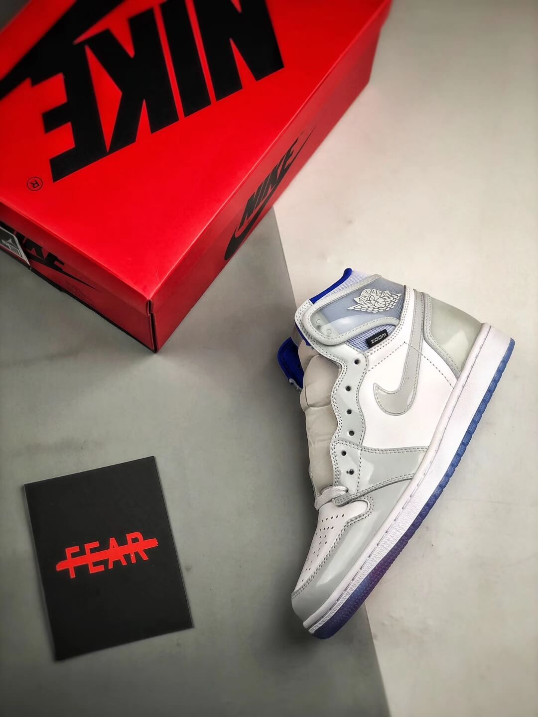 The Air Jordan 1 Retro High Zoom Racer Blue RepShoes 09