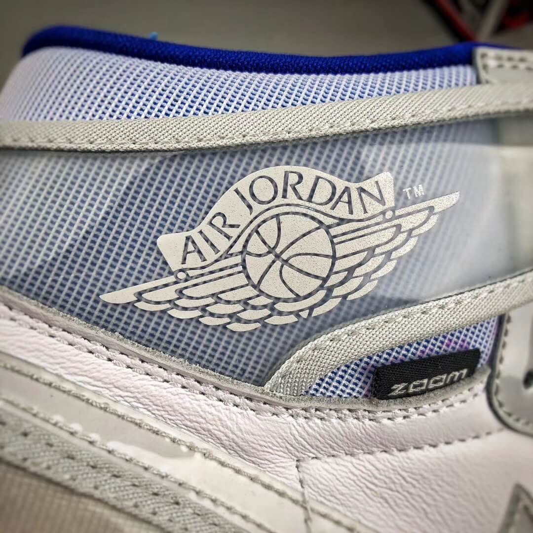 The Air Jordan 1 Retro High Zoom Racer Blue RepShoes 13