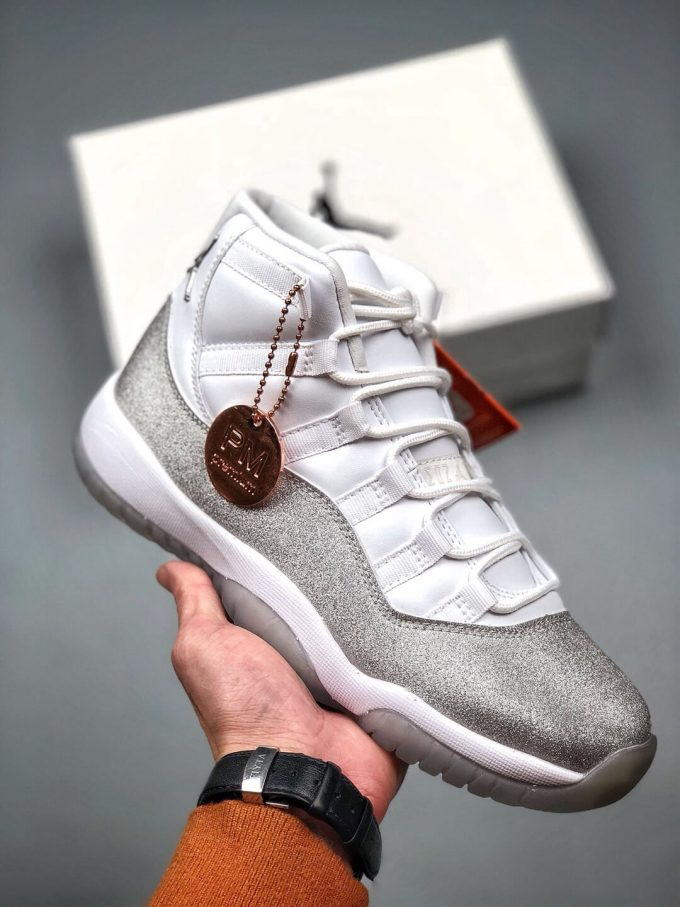 The Air Jordan 11 Wmns Retro Vast Grey Sneaker Gypsophila Quality Repsneaker 01
