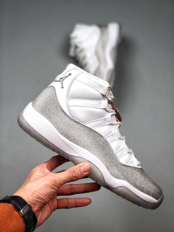 The Air Jordan 11 Wmns Retro Vast Grey Sneaker Gypsophila Quality Repsneaker 02