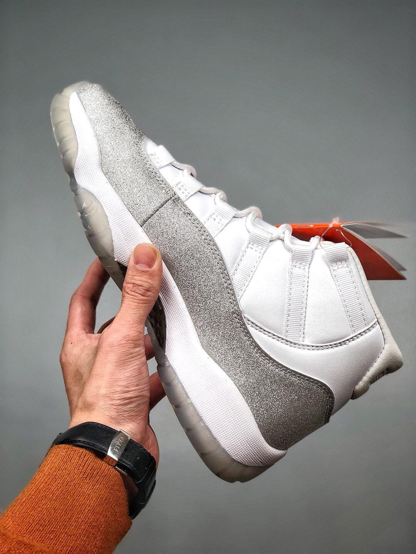 The Air Jordan 11 Wmns Retro Vast Grey Sneaker Gypsophila Quality Repsneaker 03