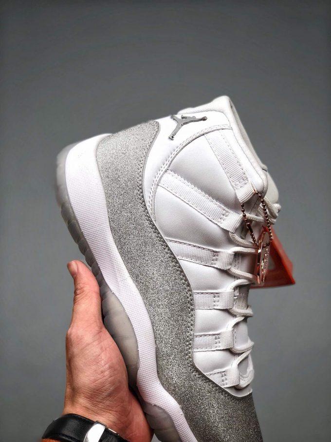 The Air Jordan 11 Wmns Retro Vast Grey Sneaker Gypsophila Quality Repsneaker 04