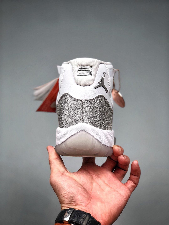 The Air Jordan 11 Wmns Retro Vast Grey Sneaker Gypsophila Quality Repsneaker 06