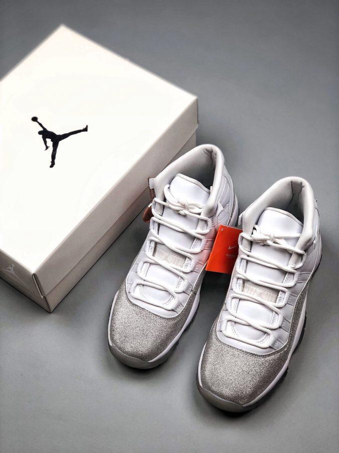 The Air Jordan 11 Wmns Retro Vast Grey Sneaker Gypsophila Quality Repsneaker 09