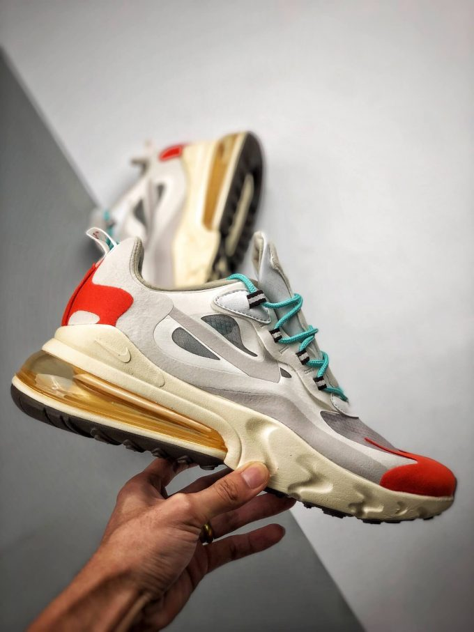 The Air Max 270 React Mid Century Art Lifestyle RepShoes 02