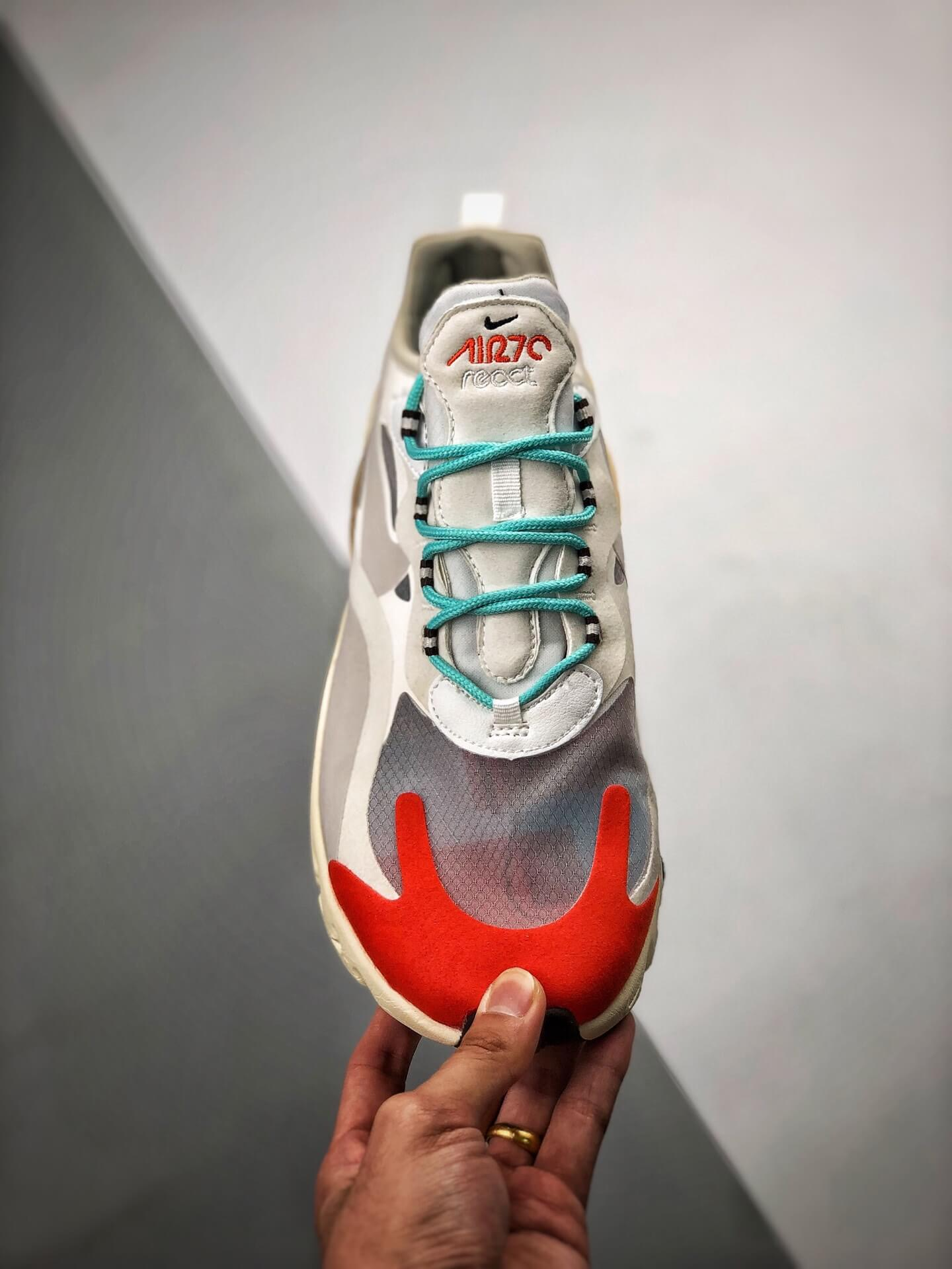 The Air Max 270 React Mid Century Art Lifestyle RepShoes 03