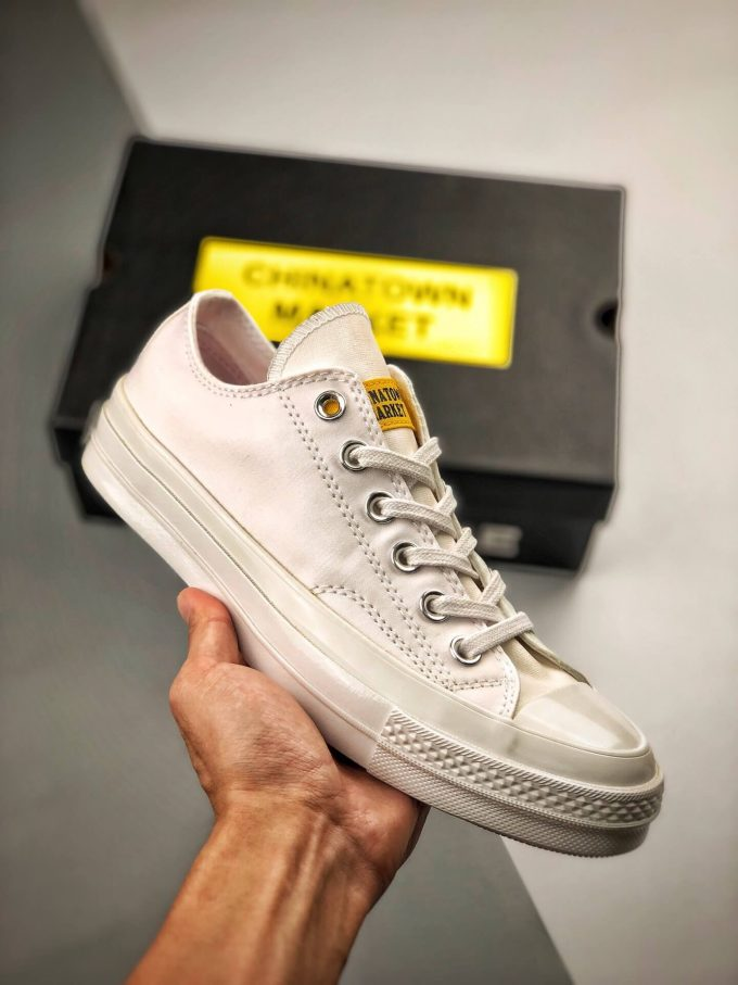The Converse All Star Chuck Taylor Chinatown Market x Chuck 70 Ox UV Low Top Lifestyle RepShoes 01