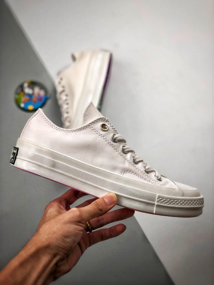 The Converse All Star Chuck Taylor Chinatown Market x Chuck 70 Ox UV Low Top Lifestyle RepShoes 02