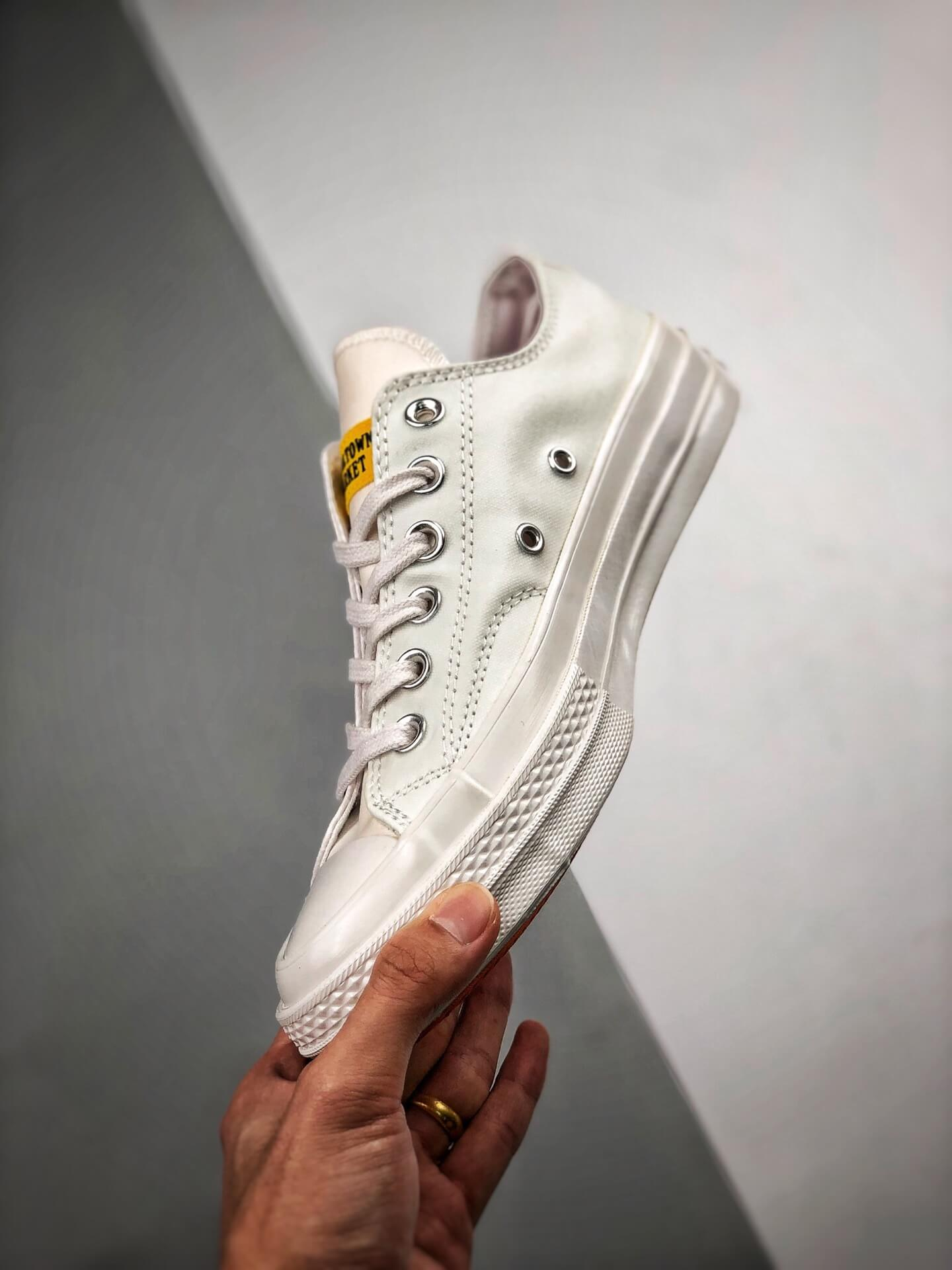 The Converse All Star Chuck Taylor Chinatown Market x Chuck 70 Ox UV Low Top Lifestyle RepShoes 04
