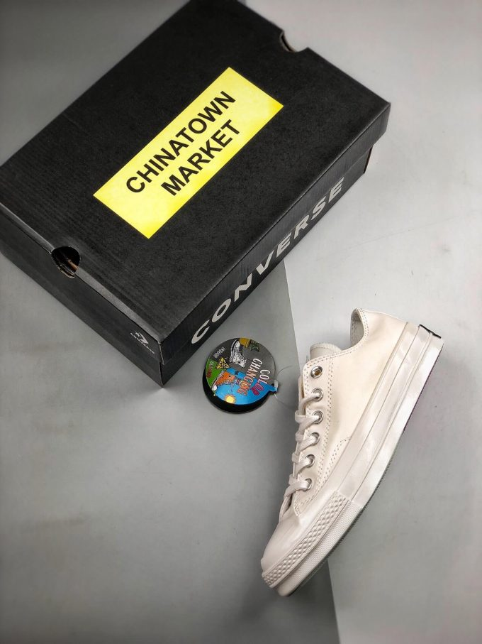 The Converse All Star Chuck Taylor Chinatown Market x Chuck 70 Ox UV Low Top Lifestyle RepShoes 09