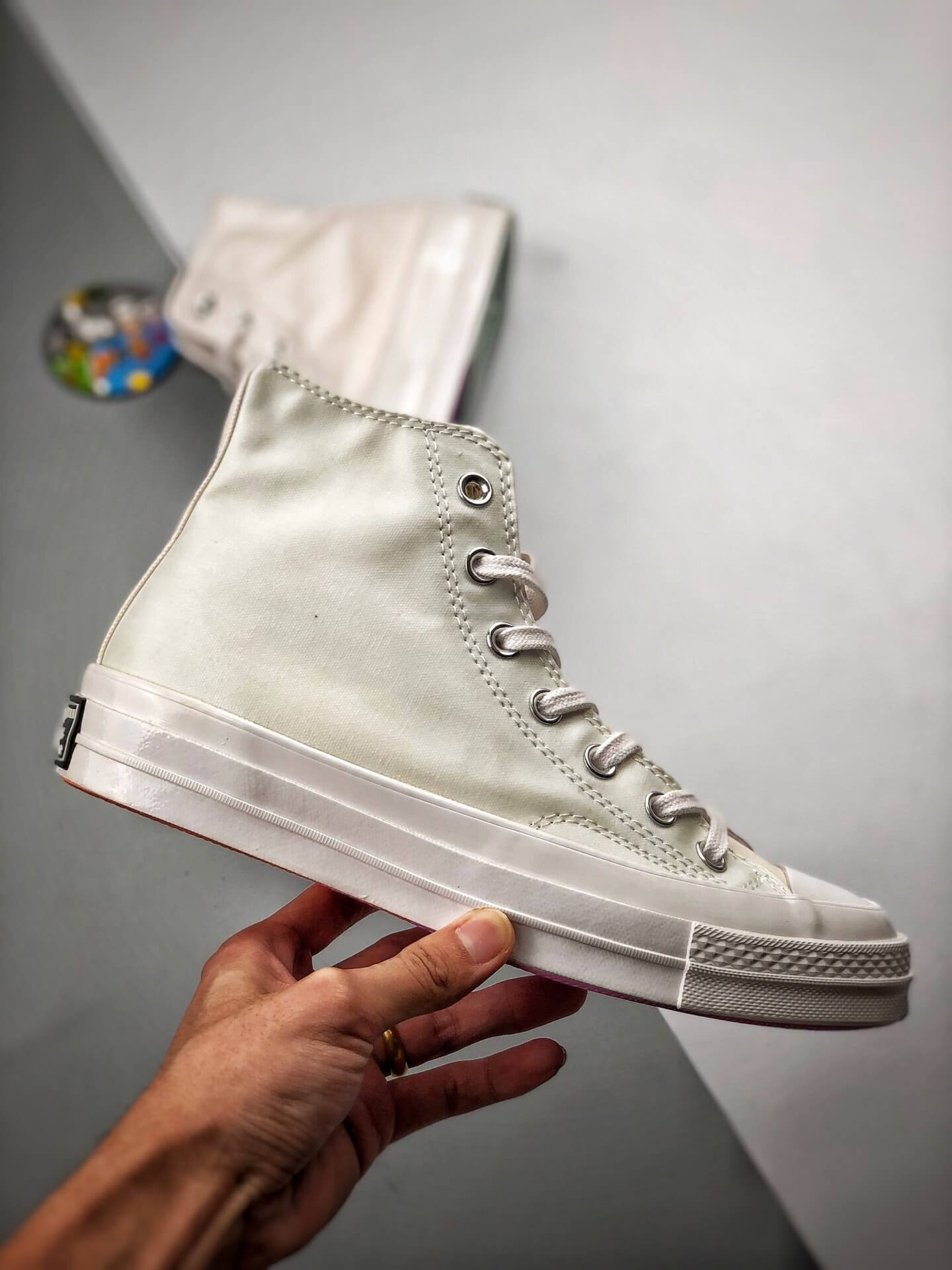 The Converse Chinatown Market x Chuck 70 High UV Lifestyle RepShoes 02