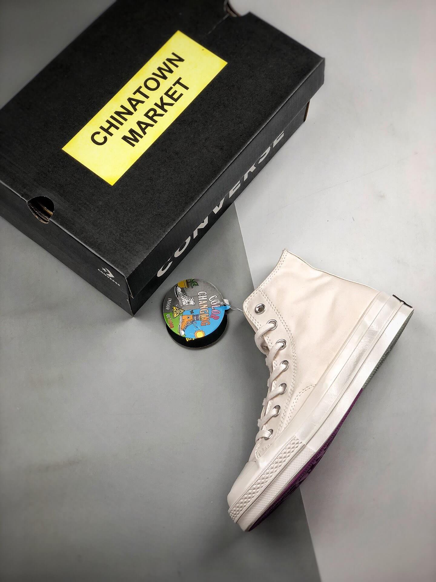 The Converse Chinatown Market x Chuck 70 High UV Lifestyle RepShoes 09