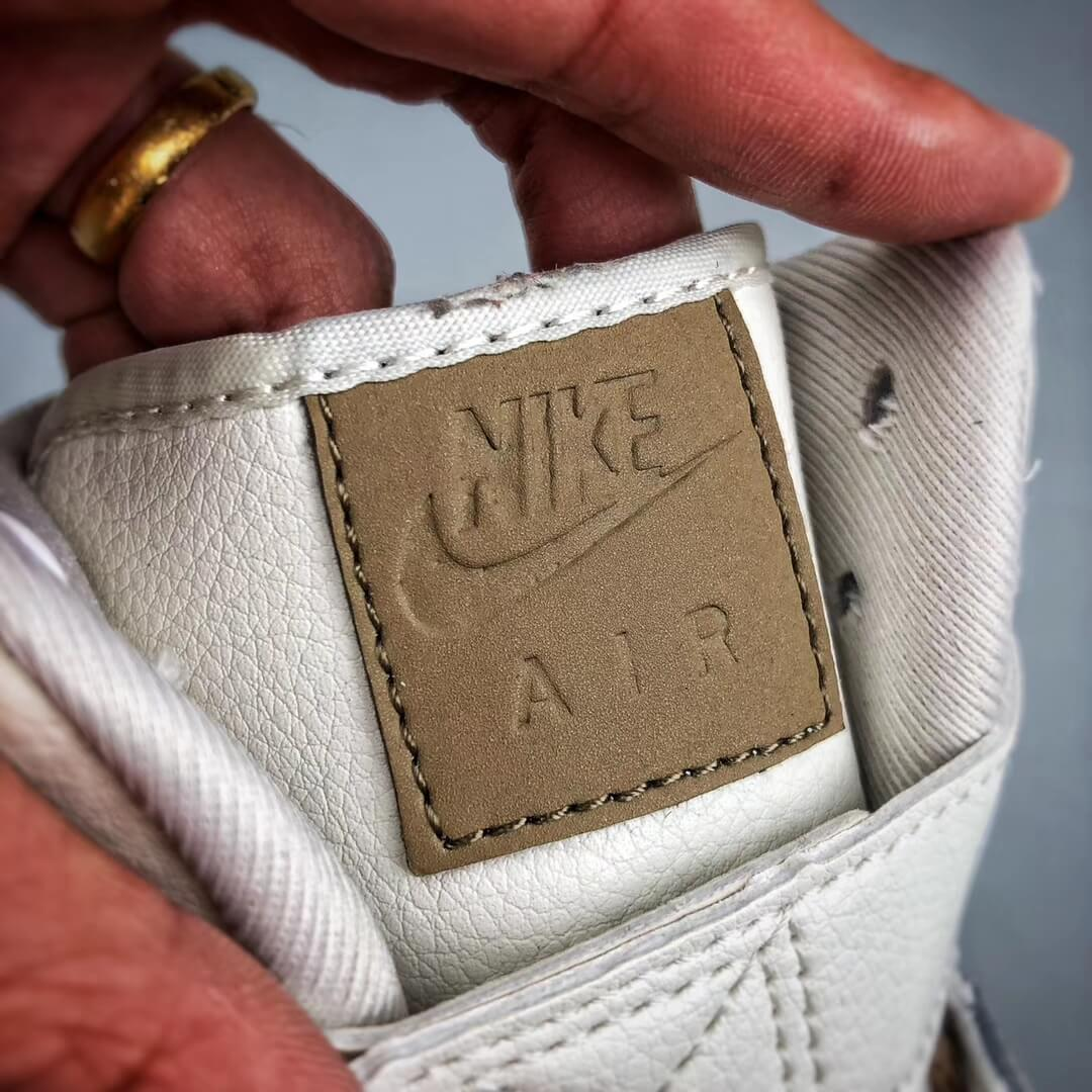 The Nike Air Force 1 Hi Yohood Rice White Rice Blanc High Top RFID Tag Sneaker RepShoes 13