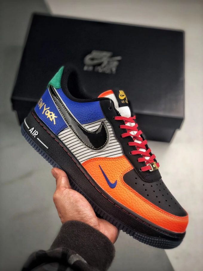 The Nike Air Force 1 Low 07 What The NYC Top Fake Sneaker 01