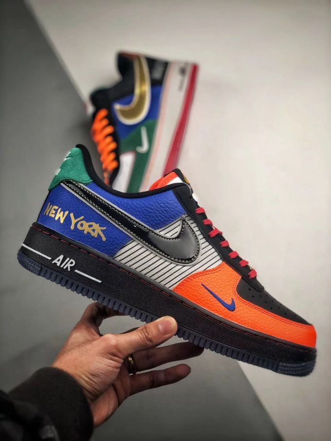 The Nike Air Force 1 Low 07 What The NYC Top Fake Sneaker 02