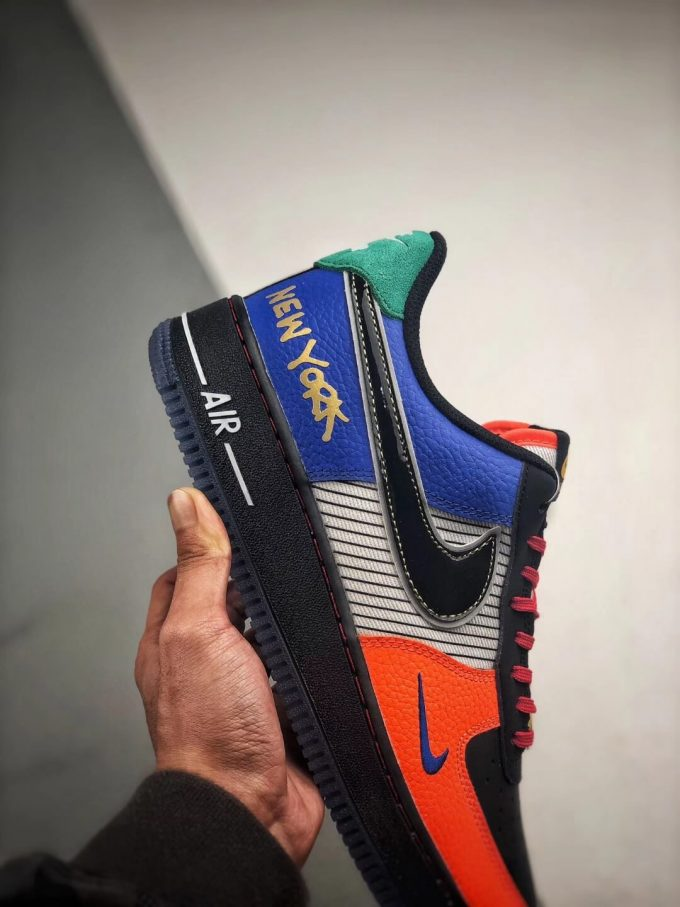 The Nike Air Force 1 Low 07 What The NYC Top Fake Sneaker 05