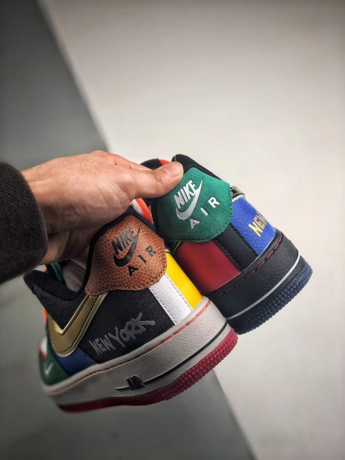 The Nike Air Force 1 Low 07 What The NYC Top Fake Sneaker 06