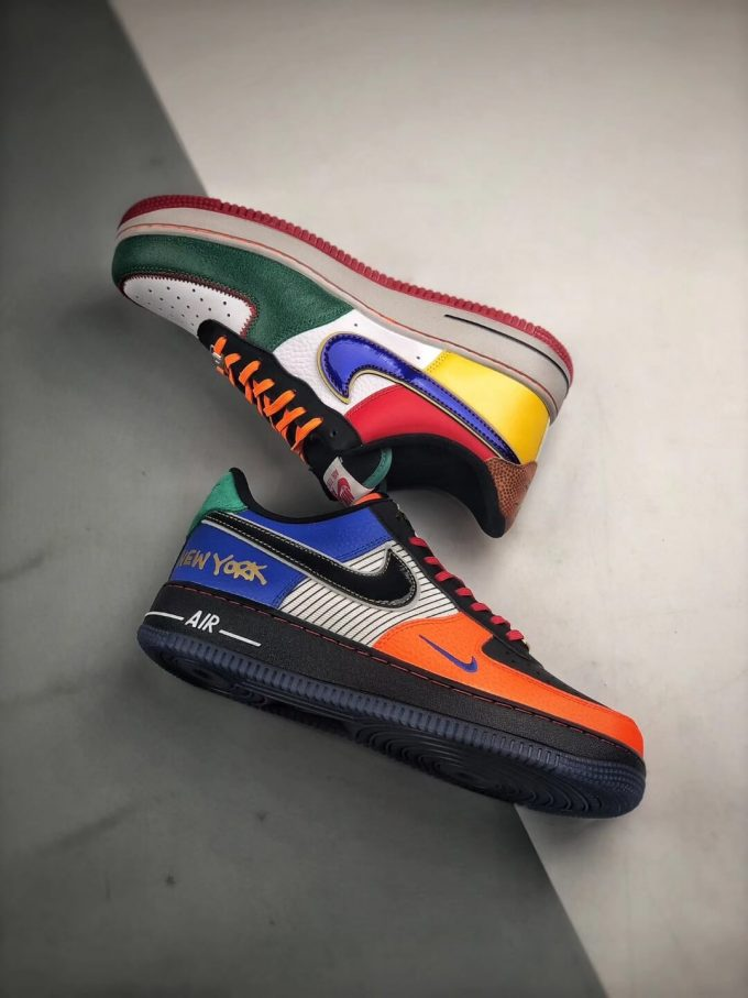 The Nike Air Force 1 Low 07 What The NYC Top Fake Sneaker 08