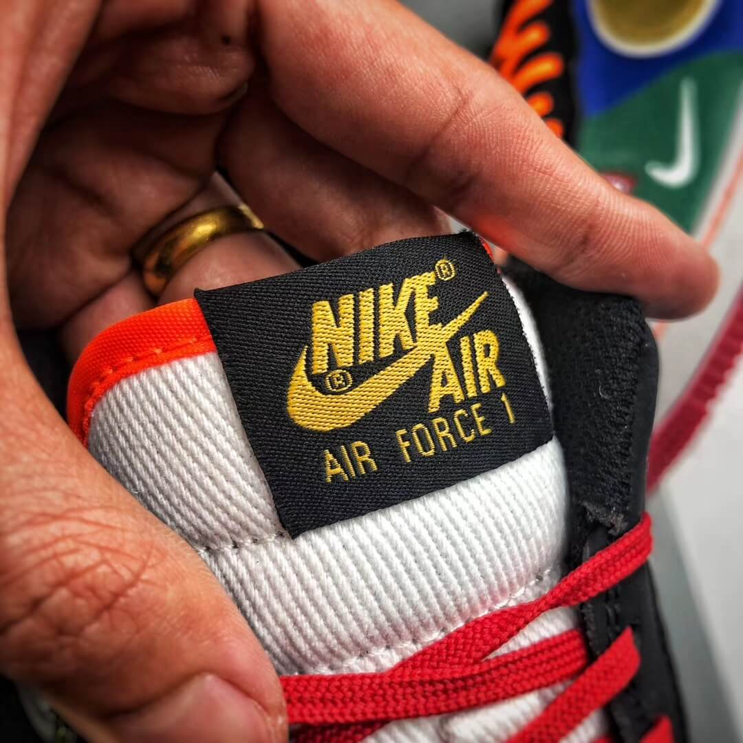 The Nike Air Force 1 Low 07 What The NYC Top Fake Sneaker 10
