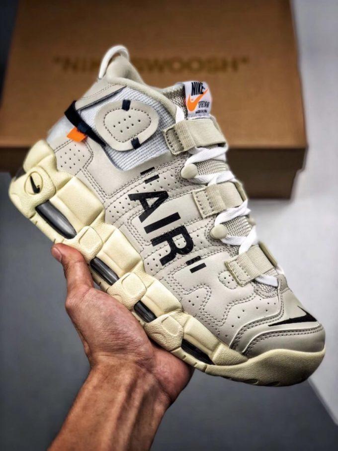 The Off White x Nike Air More Uptempo Beaverton Oregon USA C 2017 Rep Basketball Shoes 01 1