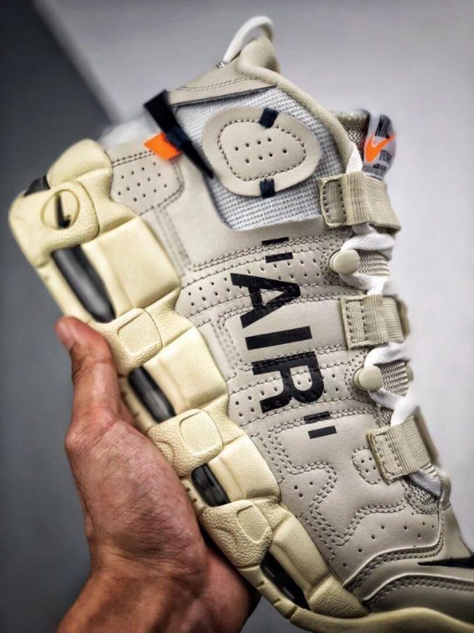 The Off White x Nike Air More Uptempo Beaverton Oregon USA C 2017 Rep Basketball Shoes 05