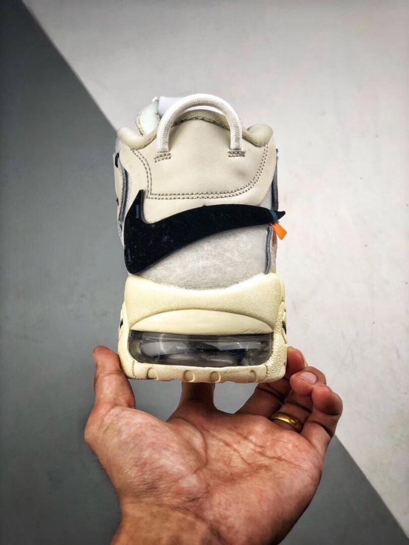 The Off White x Nike Air More Uptempo Beaverton Oregon USA C 2017 Rep Basketball Shoes 07