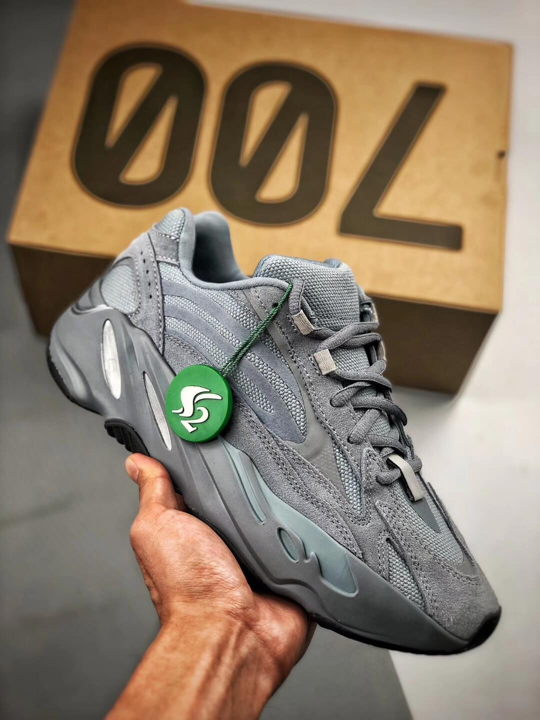 The adidas Yeezy Boost 700 V2 Hospital Blue Sneaker RepShoes 01