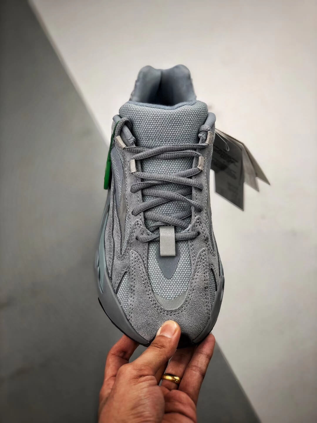 The adidas Yeezy Boost 700 V2 Hospital Blue Sneaker RepShoes 03