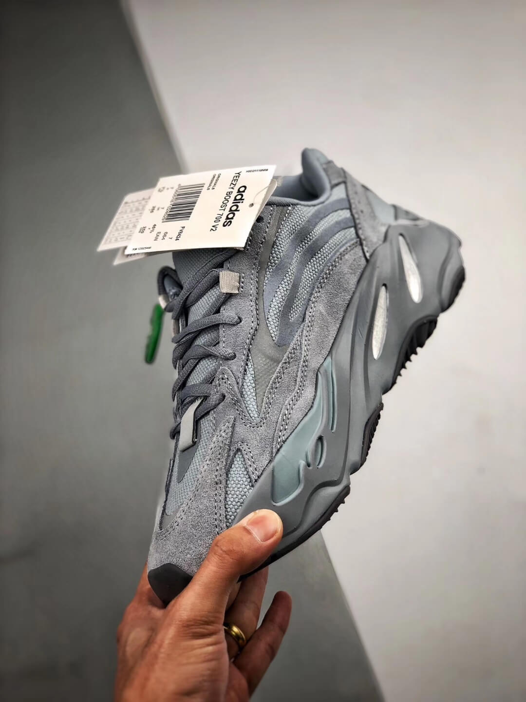 The adidas Yeezy Boost 700 V2 Hospital Blue Sneaker RepShoes 04