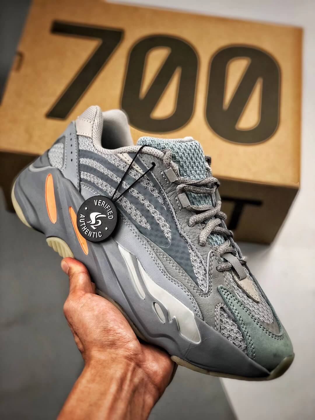 The adidas Yeezy Boost 700 V2 Inertia RepShoes 01