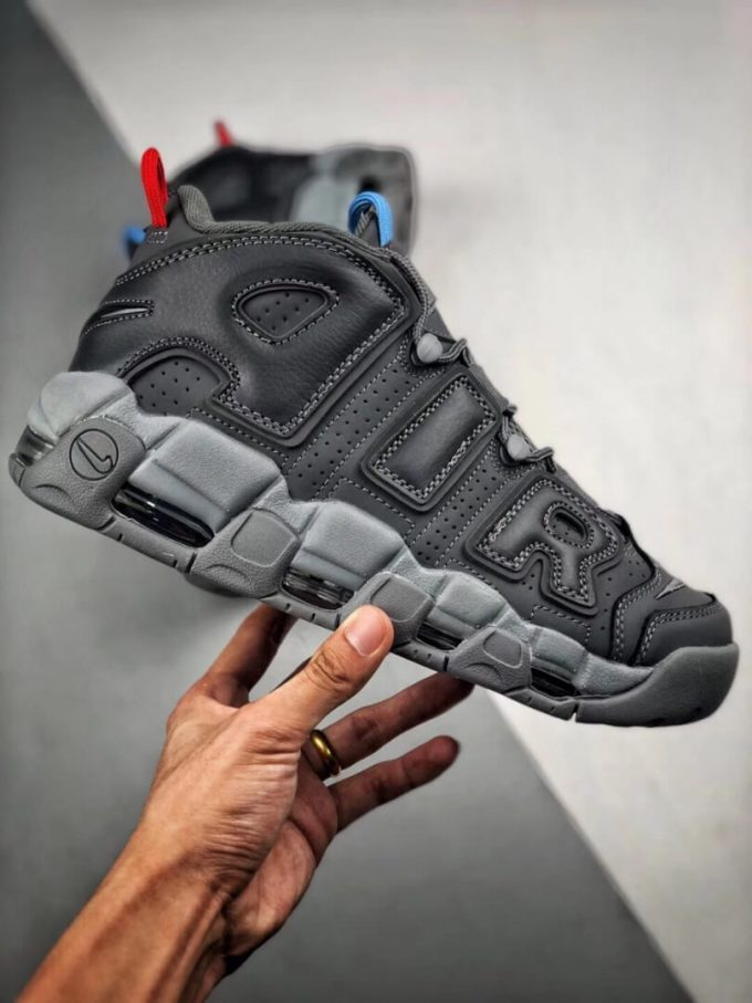 VILLA x Alexander John x Nike Air More Uptempo Dark Grey Air Gate 94 Basketball Shoes Quality Rep Sneaker 02