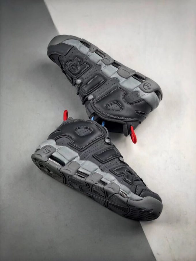 VILLA x Alexander John x Nike Air More Uptempo Dark Grey Air Gate 94 Basketball Shoes Quality Rep Sneaker 08
