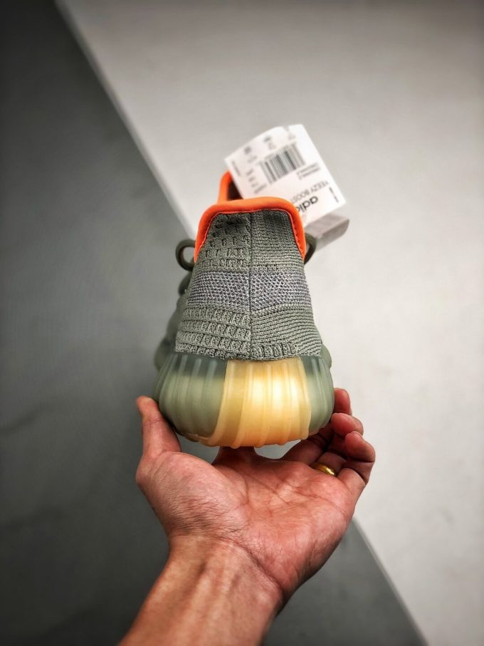Best Replica Sneakers Adidas Yeezy Boost 350 V2 Desert Sage Pale Green Primeknit Upper 3M Reflective 06