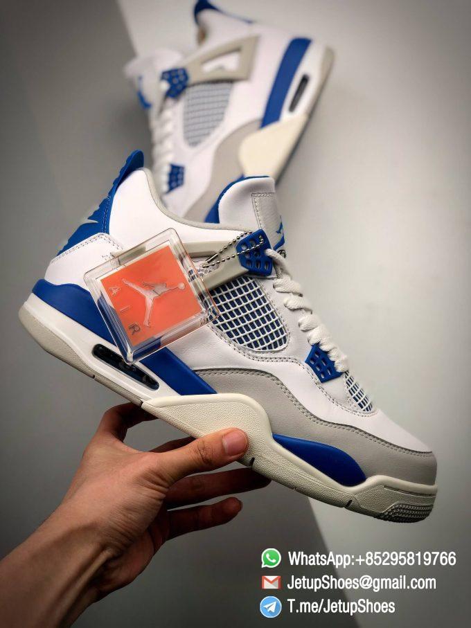 Best Replica Jordan 4 Retro Military Blue 2012 Sneakers 308497 105 03